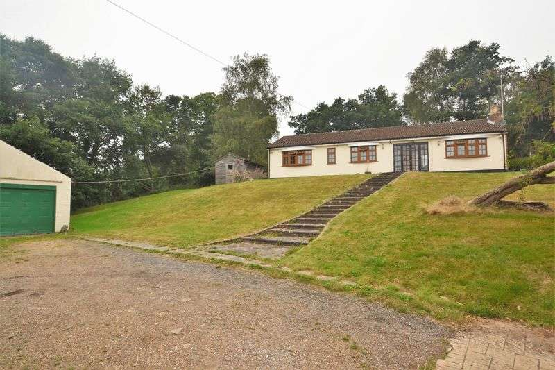 3 Bedrooms Detached Bungalow for sale in Firmingers Road, Chelsfield, Orpington