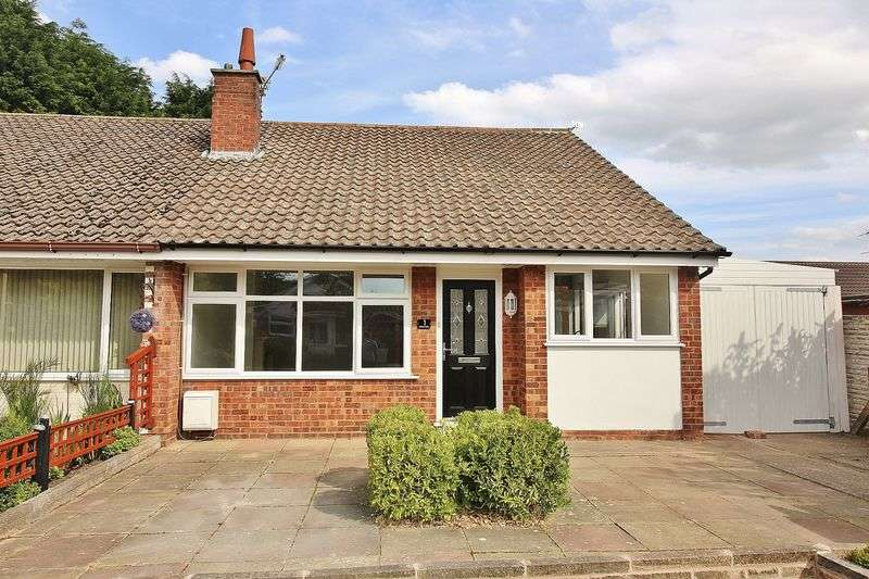 3 Bedrooms Semi Detached Bungalow for sale in Pinfold Close, Ainsdale