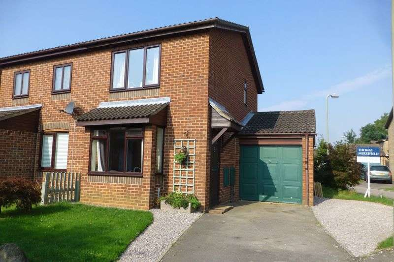2 Bedrooms Semi Detached House for sale in Beckdale Close, Bicester