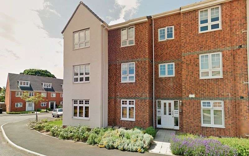 2 Bedrooms Flat for sale in Ashfield Mews, Wallsend