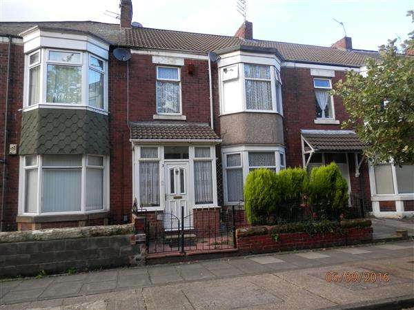 3 Bedrooms Terraced House for sale in Holly Avenue, Newcastle