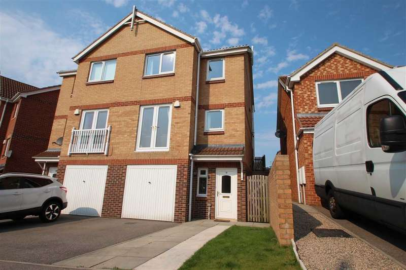 3 Bedrooms Semi Detached House for sale in The Chequers, Templetown, Consett