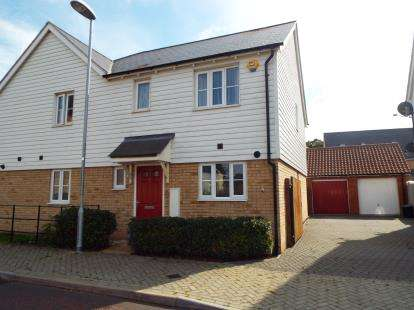3 Bedrooms Semi Detached House for sale in Colchester, Essex, England