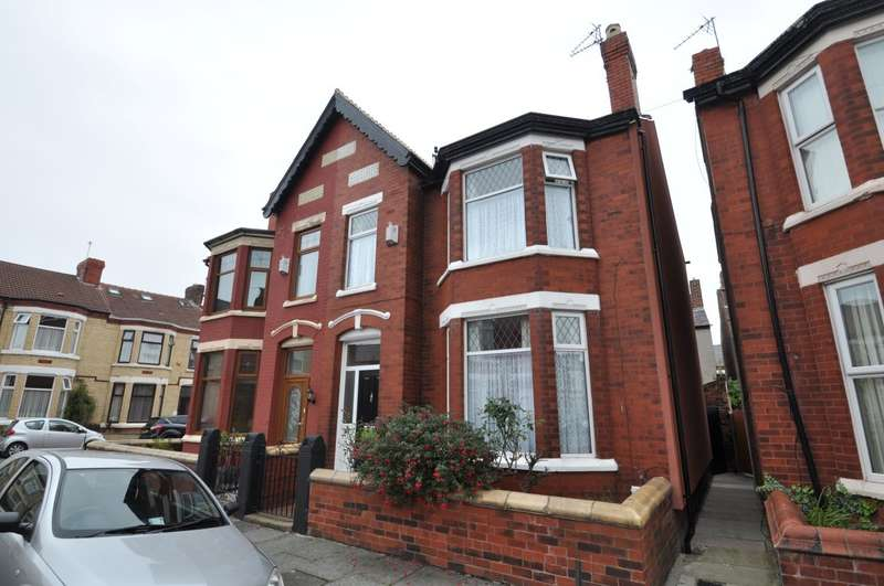 3 Bedrooms Semi Detached House for sale in Eaton Avenue, Wallasey