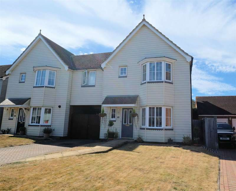 4 Bedrooms Detached House for sale in Pochard Crescent, HERNE BAY, Kent