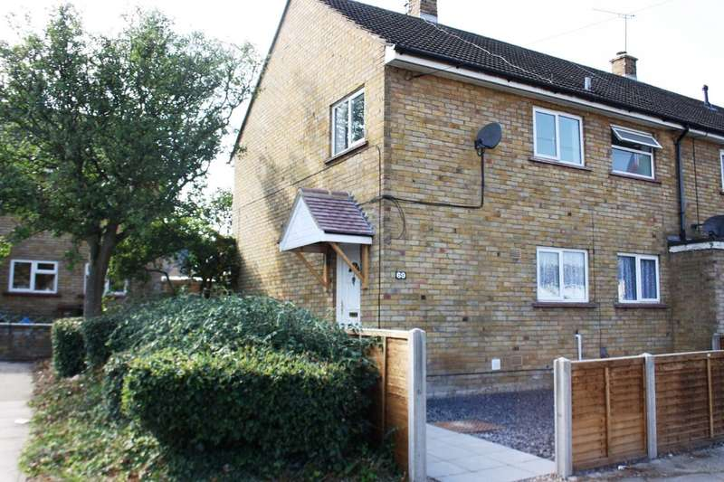 3 Bedrooms End Of Terrace House for sale in Chells Way, Stevenage