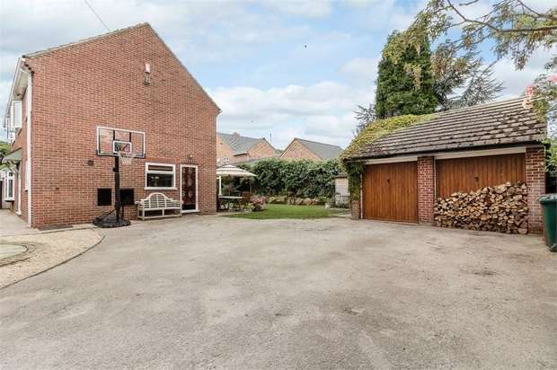 4 Bedrooms Detached House for sale in Club Lane, Barrow-on-Trent, Derby