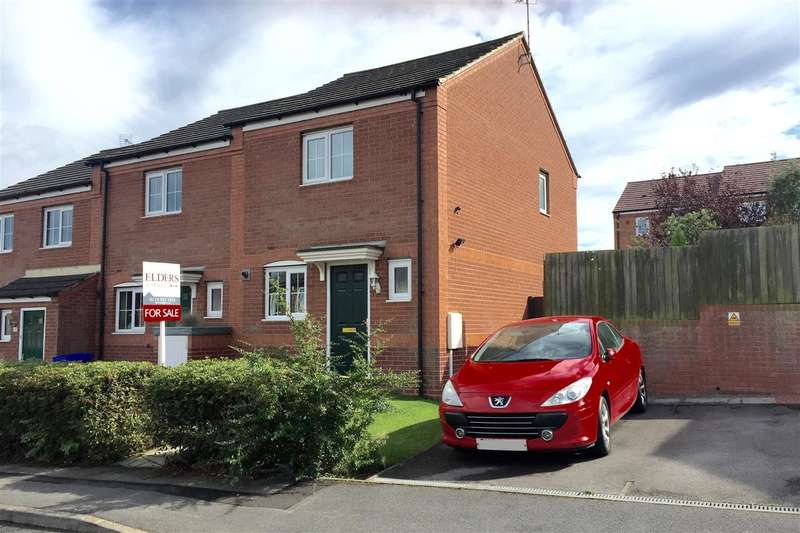 2 Bedrooms Town House for sale in Vincent Avenue, Ilkeston