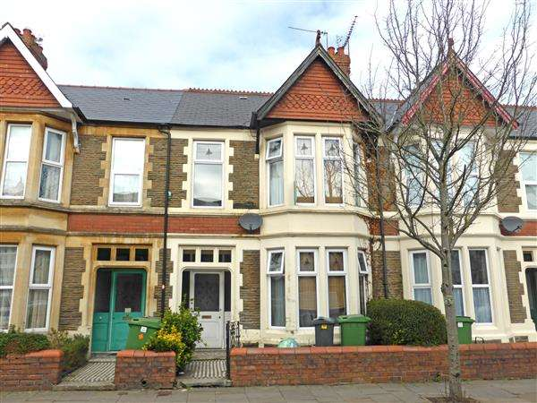 4 Bedrooms Terraced House for sale in NEWFOUNDLAND ROAD, HEATH/GABALFA, CARDIFF