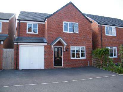 4 Bedrooms Detached House for sale in Brimstone Road, Winsford, Cheshire, England, CW7