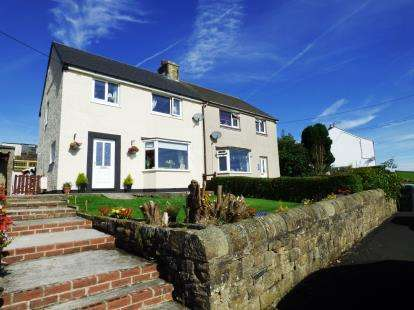 3 Bedrooms Semi Detached House for sale in Meadow Lane, Dove Holes, Buxton, Derbyshire