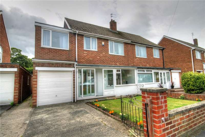 4 Bedrooms Semi Detached House for sale in Lombard Drive, Chester le Street, County Durham, DH3