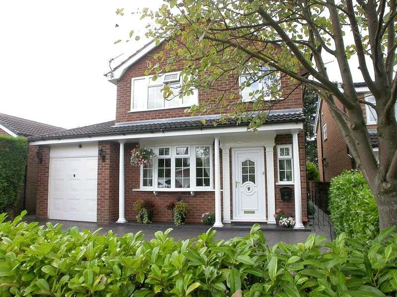 4 Bedrooms Detached House for sale in POYNTON (GAWSWORTH CLOSE)