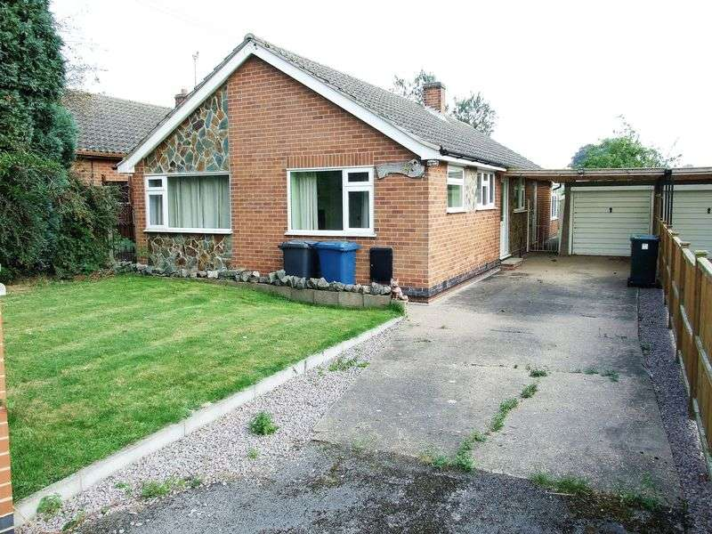 3 Bedrooms Detached Bungalow for sale in Wysall Lane, Rempstone