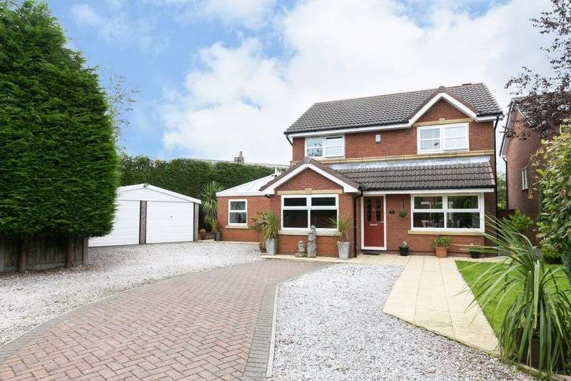 5 Bedrooms Detached House for sale in Bracken Close, Chorley, PR6 0EJ