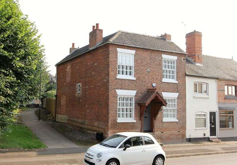 3 Bedrooms Semi Detached House for sale in High Street, Chellaston, Derbyshire, DE73 6TD