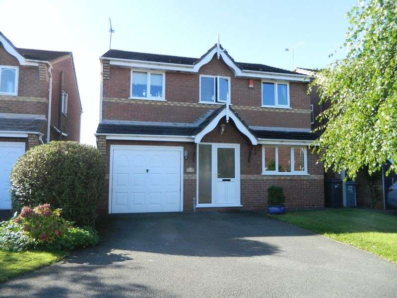4 Bedrooms Detached House for sale in Rookery Close, Ettiley Heath, Sandbach
