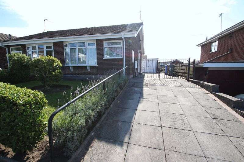 1 Bedroom Semi Detached Bungalow for sale in Zodiac Drive, Packmoor, Stoke-On-Trent