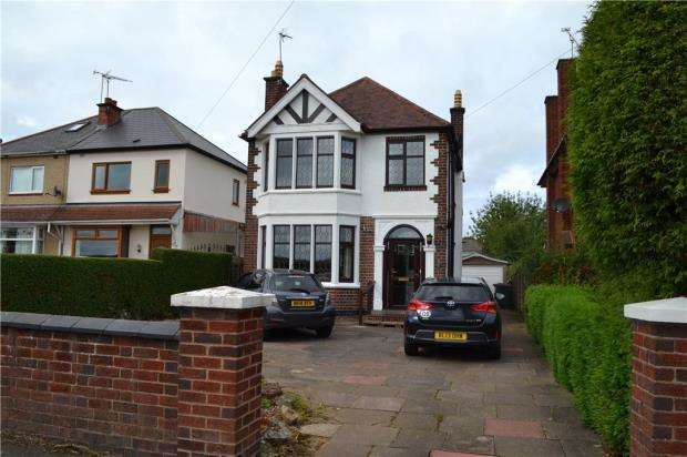 3 Bedrooms Detached House for sale in Browns Lane, Allesley, Coventry, West Midlands