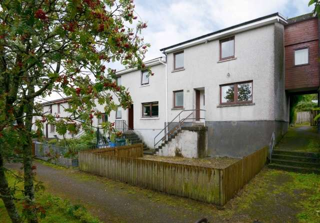 3 Bedrooms Terraced House for sale in Banff Crescent, Fort William, Highland, PH33 6TT