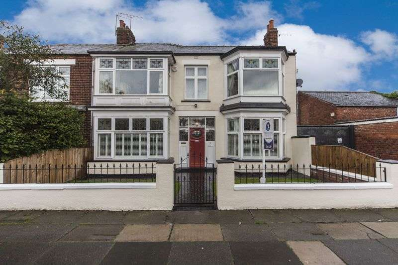 4 Bedrooms Semi Detached House for sale in Eton Road, Middlesbrough