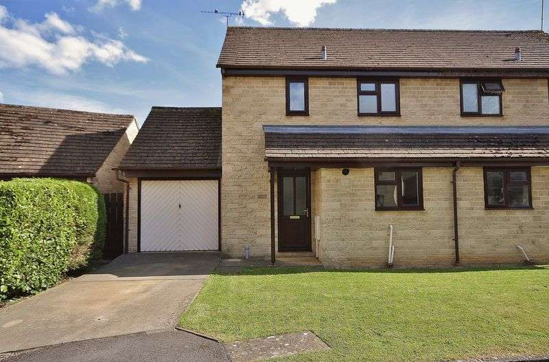 2 Bedrooms Semi Detached House for sale in MANOR ROAD, Cogges, Witney OX28 3UQ