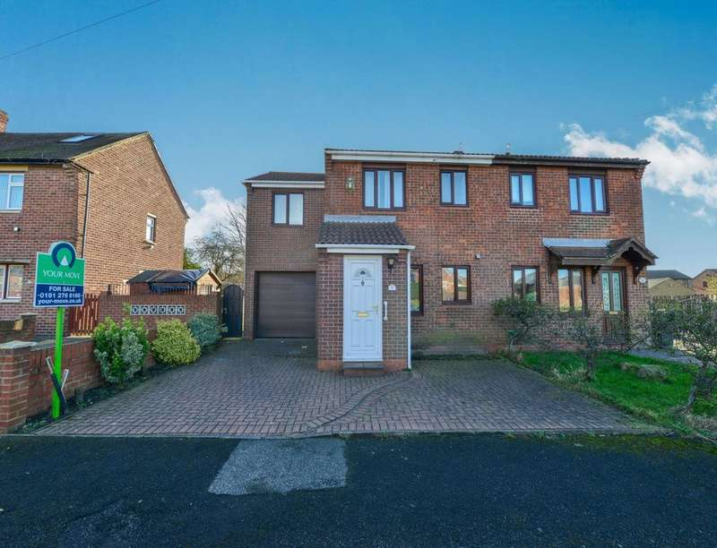 4 Bedrooms Semi Detached House for sale in Thompson Avenue, Camperdown, Newcastle Upon Tyne, NE12