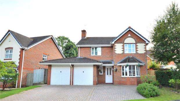4 Bedrooms Detached House for sale in 16 Maynards Wood, Chineham, Basingstoke, RG24 8DP