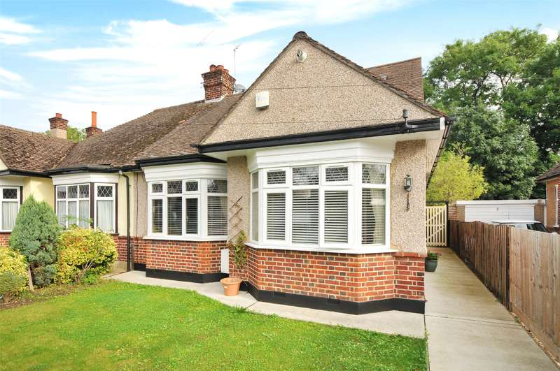 4 Bedrooms Semi Detached Bungalow for sale in Manor Park Drive, North Harrow, Middlesex, HA2
