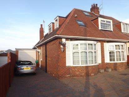 3 Bedrooms Bungalow for sale in Hemsley Road, South Shields, Tyne and Wear, Tyne And Wear, NE34