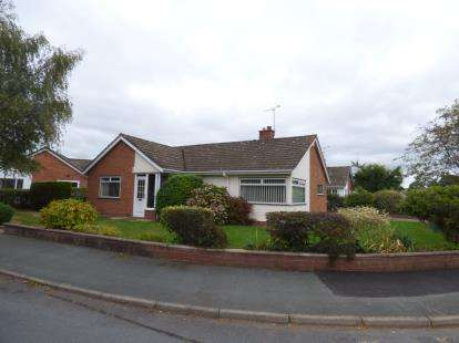 3 Bedrooms Bungalow for sale in Abbeygate Walk, Bangor-On-Dee, Wrexham, Wrecsam, LL13