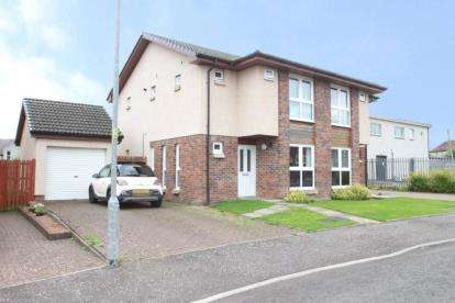 3 Bedrooms Semi Detached House for sale in Galbraith Crescent, Law