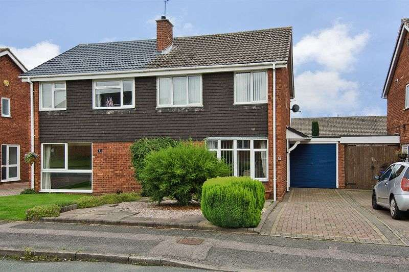 3 Bedrooms Semi Detached House for sale in St. Helens Road, Lichfield