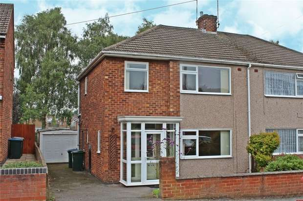 3 Bedrooms Semi Detached House for sale in Malmesbury Road, Whitmore Park, Coventry