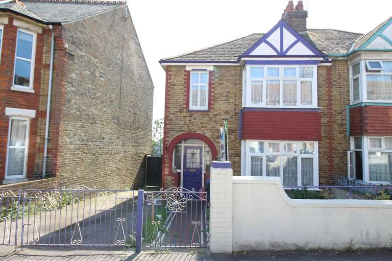 3 Bedrooms Semi Detached House for sale in Cecilia Road, Ramsgate, CT11