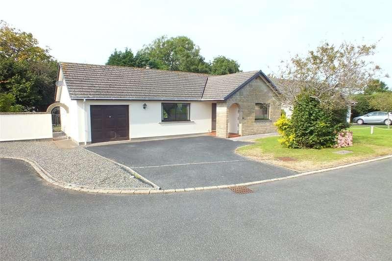 2 Bedrooms Detached Bungalow for sale in Llewellyn Drive, Pembroke, Pembrokeshire
