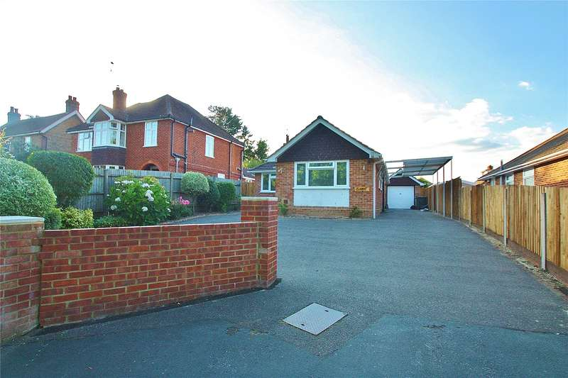 2 Bedrooms Detached Bungalow for sale in Clews Lane, Bisley, Woking, Surrey, GU24