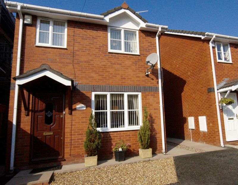 3 Bedrooms Detached House for sale in High Street, Brymbo, Wrexham