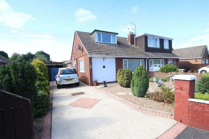 3 Bedrooms Semi Detached Bungalow for sale in SONJA CREST, IMMINGHAM