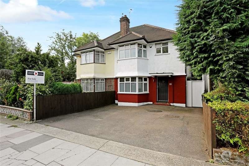 3 Bedrooms Semi Detached House for sale in Hale Lane, Edgware, HA8