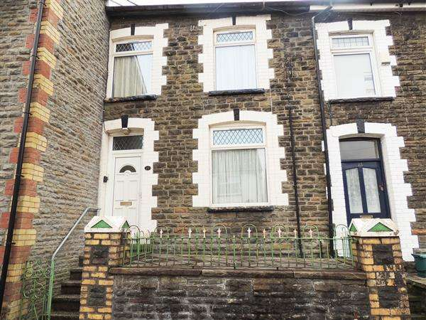 3 Bedrooms Terraced House for sale in Library Rd, Tonypandy