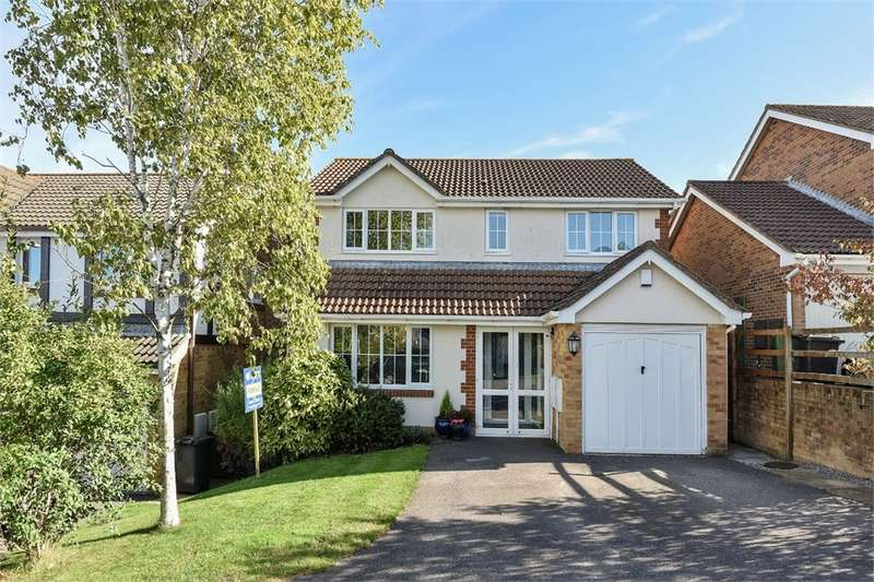4 Bedrooms Detached House for sale in Hatch Warren, BASINGSTOKE
