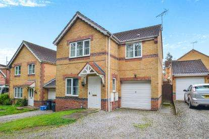 3 Bedrooms Detached House for sale in Mercia Court, Huthwaite, Sutton-In-Ashfield, Notts