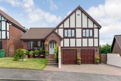 4 Bedrooms Detached House for sale in Bressay, East Kilbride