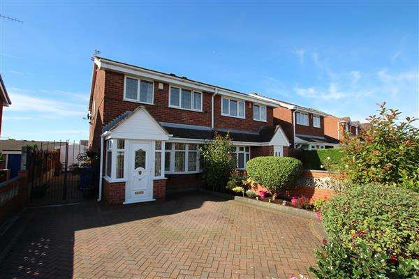 3 Bedrooms Semi Detached House for sale in Linnburn Road, Weston Park, Stoke-on-Trent