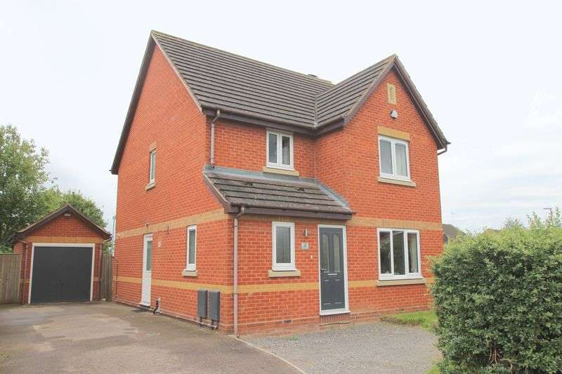 4 Bedrooms Detached House for sale in Blenheim Close, Bidford on Avon