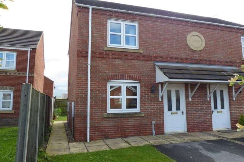 2 Bedrooms Semi Detached House for sale in A Arnhem Close, Lincoln, LN1