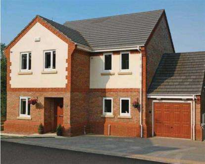 4 Bedrooms Detached House for sale in Plas Pen Glyn, Flint Mountain, Flint, Flintshire, CH6