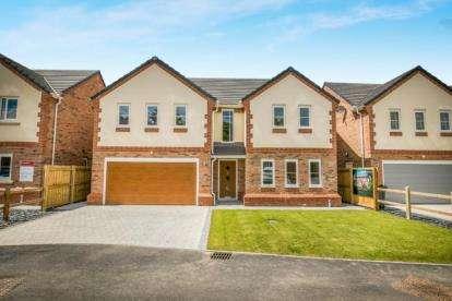 4 Bedrooms Detached House for sale in Plas Pen Glyn, Flint Mountain, Flint, Flintshire, CH6