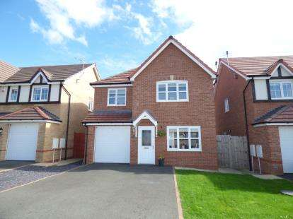 3 Bedrooms Detached House for sale in Lon Lafant, Llandudno Junction, Conwy, LL31